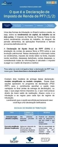 O que é a Declaração de Imposto de Renda de PF? (1/2)
